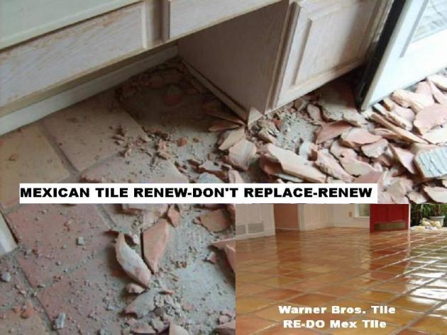 1311528654 231852401 2 Mexican Saltillo Floor Tile Removal
