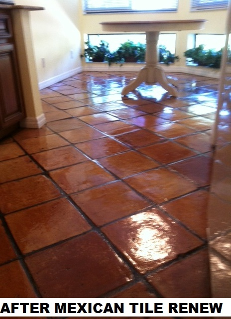 Mexican Tile Renew Mexican Tile Cleaning And Sealing From