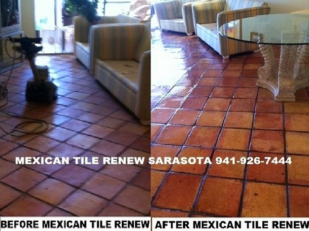 Best Prices On Mexican Saltillo Tile Cleaning In Florida