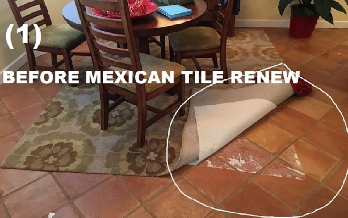Better call vel at mexican tile renew 941 926 7444 mexican mexican tile renew of home in sarasota fl with rubber pads stuck to the mexican tile floor mexican tile renew fort myers to sarasota to st pete to panama dailygadgetfo Image collections