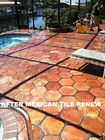 Don\'t Tear Out and Replace Your Old Dirty Mexican Tile Floors Renew ...