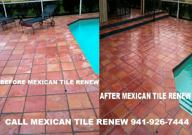 Mexican Tile Renew Mexican Tile Cleaning And Sealing Fort