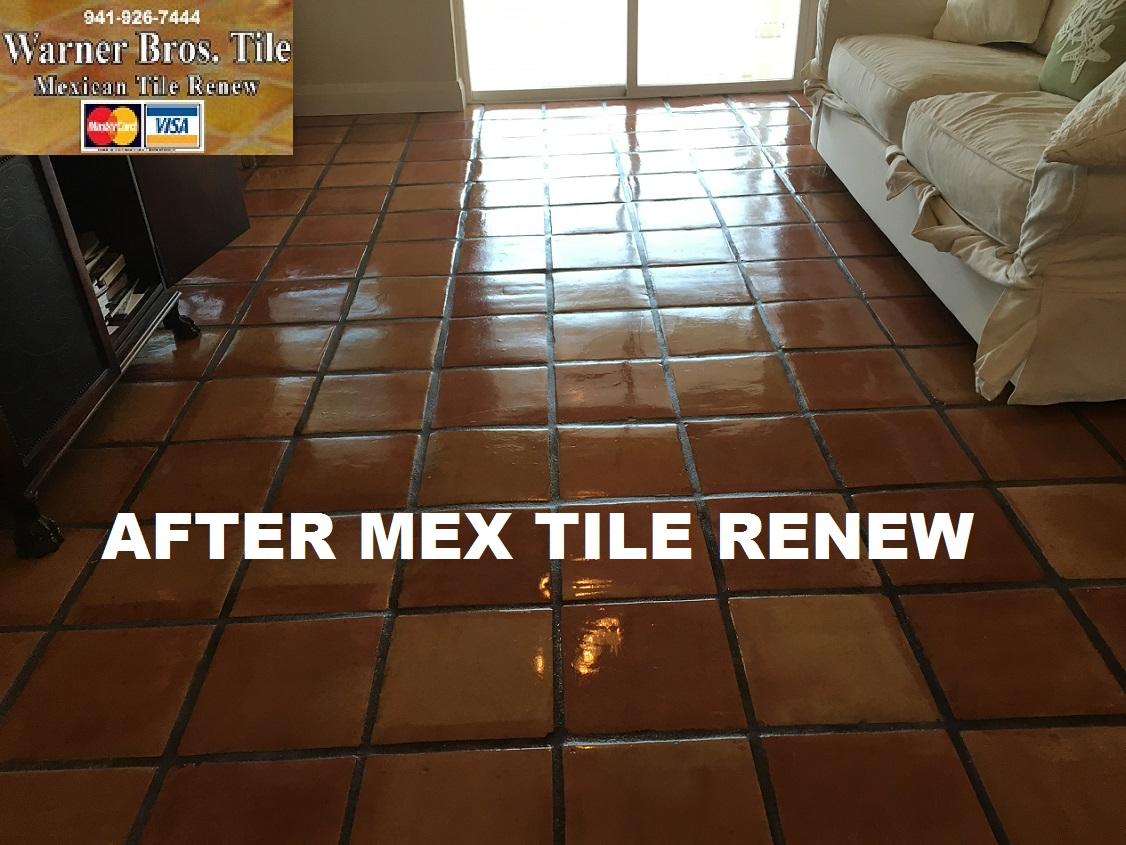MEXICAN TILE RENEW: Clean Mexican-Saltillo Tile |Seal Mexican ...