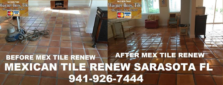 Mexican Tile Renew Clean Mexican Saltillo Tile Seal Mexican