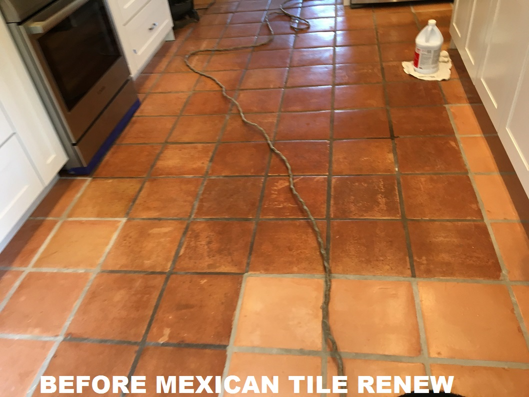 Mexican tile renew project at beach house in indian rocks beach mexican tile renew project at beach house in indian rocks beach florida sometimes there are large stress cracks in the mexican tile floor and tiles have to dailygadgetfo Choice Image