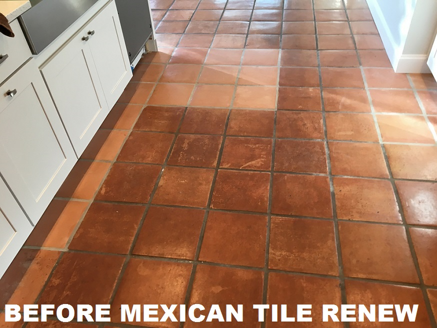 Mexican Tile Renew Project at Beach House in Indian Rocks Beach ...