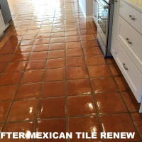 Mexican Tile Renew Project at Beach House in Indian Rocks Beach Florida