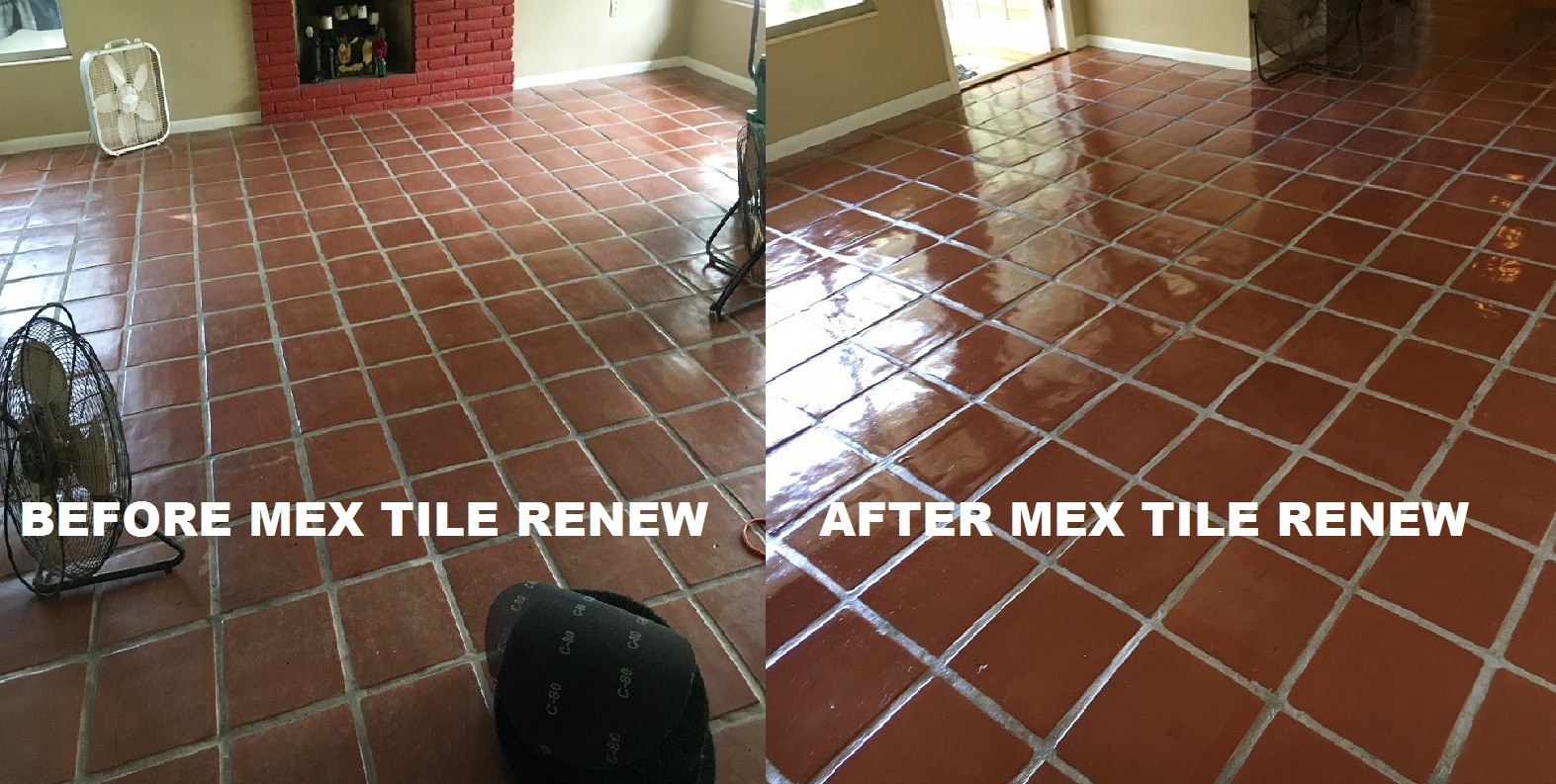 Mexican tile sarasota fl better business bureau approved mexican tile renew project in sarasota fl with light colored grout never clean your mexican tile floor with vinegar it will ruin the finish and darken the dailygadgetfo Image collections