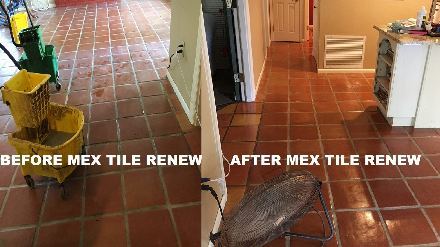 Mexican tile sarasota fl better business bureau approved mexican tile renew project in sarasota fl with light colored grout never clean your mexican tile floor with vinegar it will ruin the finish and darken the doublecrazyfo Gallery