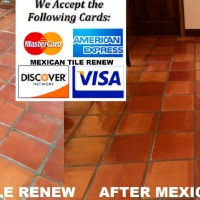 MEXICAN TILE RENEW PROJECT AT HOME ON LONGBOAT KEY SARASOTA FLORIDA