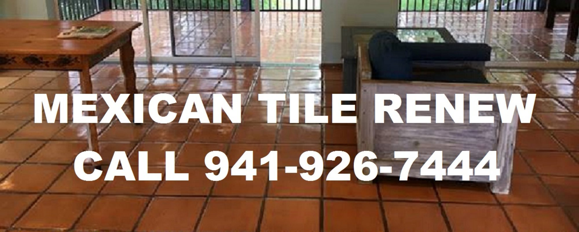 Best Prices on Mexican 'Saltillo' Tile Cleaning in Florida