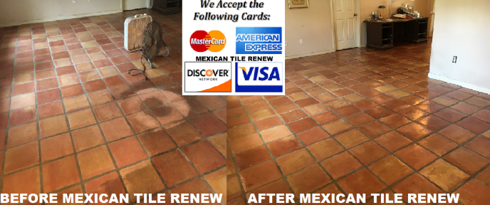 MEXICAN TILE CLEANING & SEALING MEXICAN TILE RENEW FORT MYERS ...