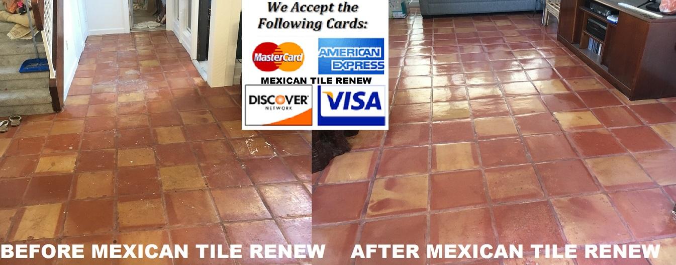Mexican Tile Restoration Saltillo Tile Restoration Mexican Tile