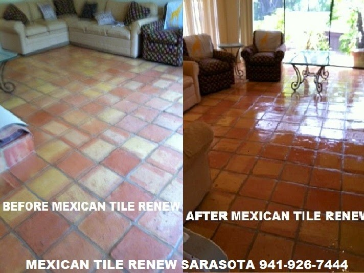 Mexican Tile Clean And Seal Page 8 Tile And Grout