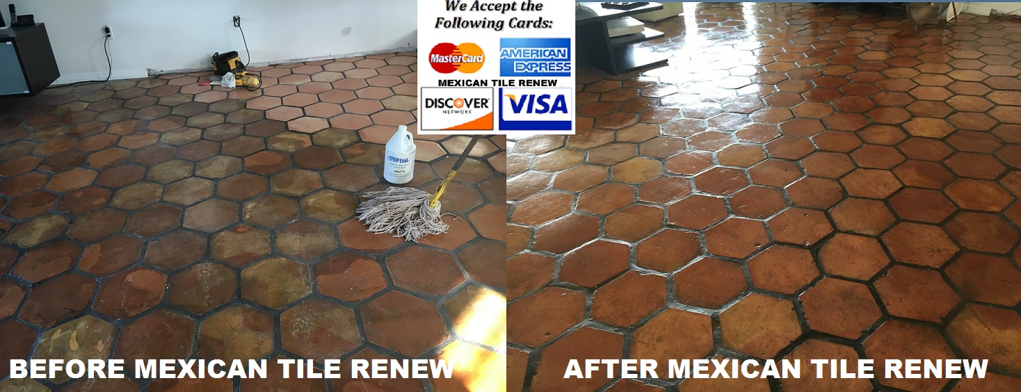 Best Prices on Mexican \'Saltillo\' Tile Cleaning in Florida ...