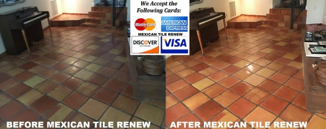Mexican Tile Renew Page 3 Tile And Grout Cleaning