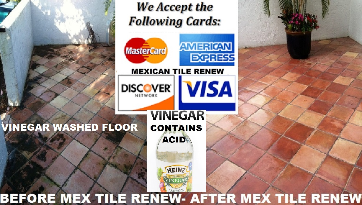 How To Clean Mexican Tile With Soap Water Never Use White