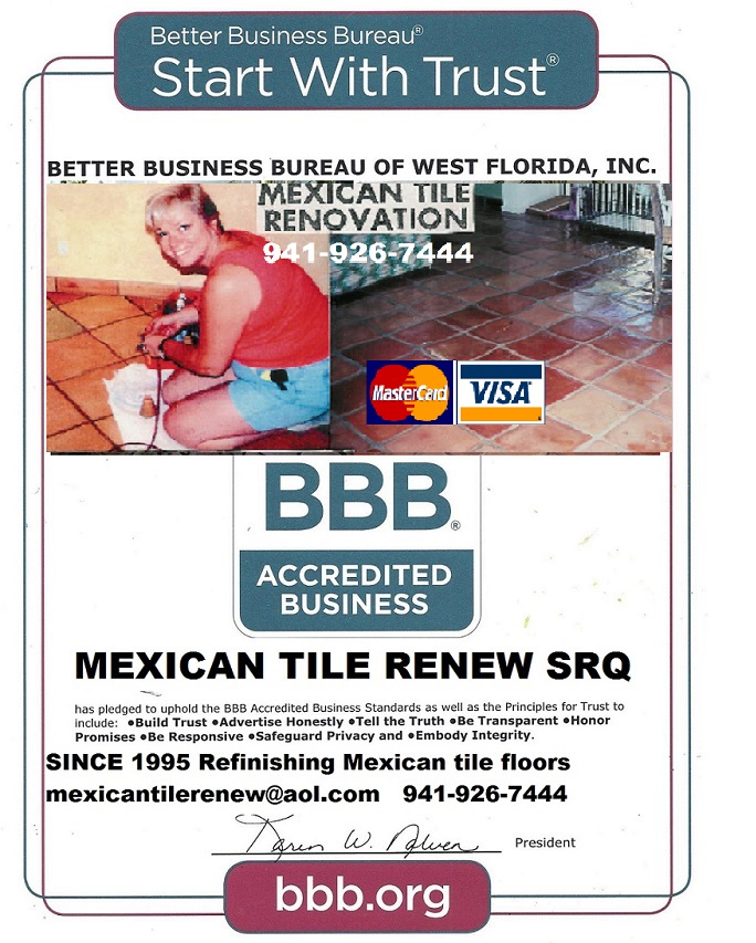 Tile And Grout Cleaning Mexican Tile Cleaning Amp Sealing